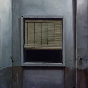 Detalle Obra 3 ventanas - Serie A nosotros - Artista pintor Antonio Morales Prats
