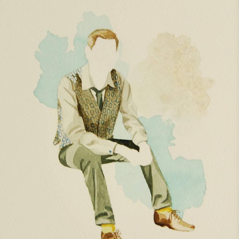 Detalle Obra Antonio Moralesky - Serie Descarados - Artista Antonio Morales Prats
