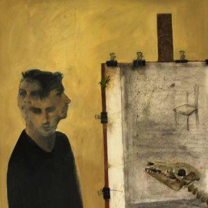 Detalle Obra Cabreado - Serie A nosotros - Artista pintor Antonio Morales Prats