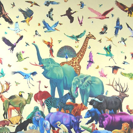 Detalle Obra Colorzoo - Serie Colorzoo - Artista Antonio Morales Prats