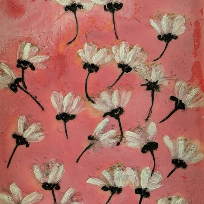 Detalle Obra Come flores I - Serie Cocina de Autor - Artista pintor Antonio Morales Prats