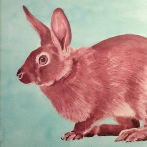 Detalle Obra Hispania - Serie Colorzoo - Artista Antonio Morales Prats