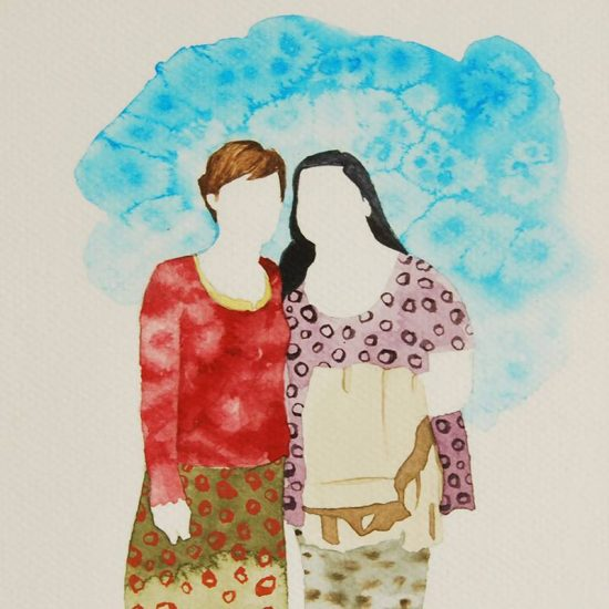 Detalle Obra I love London - Serie Descarados - Artista Antonio Morales Prats