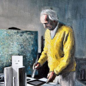 Detalle Obra Max Ernst - Serie Artistudios - Artista pintor Antonio Morales Prats_detalle