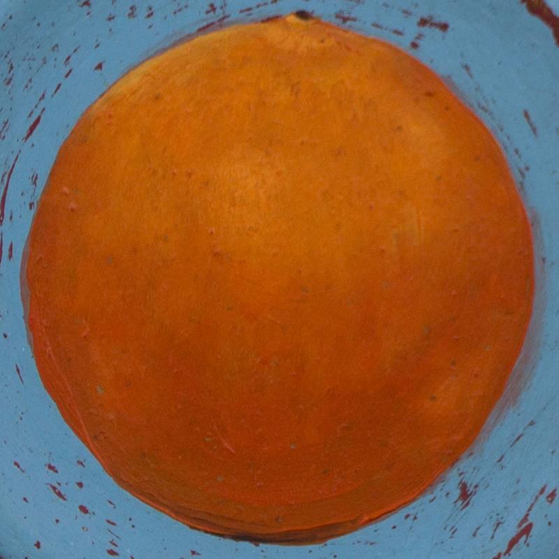 Detalle Obra Naranja - Serie Cocina de Autor - Artista pintor Antonio Morales Prats