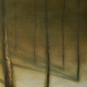 Detalle Obra Sombras I - Pintura - Serie Natura - Artista pintor Antonio Morales Prats