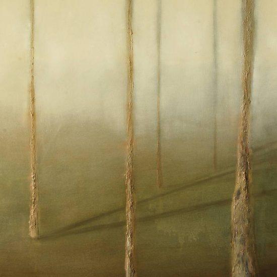 Detalle Obra Sombras II - Pintura - Serie Natura - Artista pintor Antonio Morales Prats