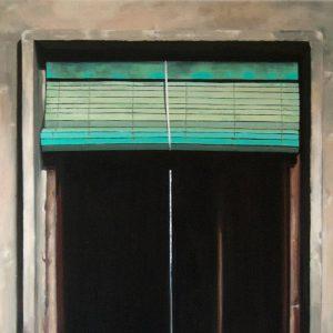 Detalle Obra Ventana estudio - Serie A nosotros - Artista pintor Antonio Morales Prats