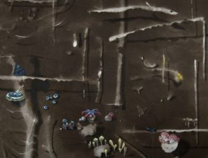 Ecosistema Fungi del artista alicantino Antonio Morales Prats. Proyecto Kryptos Natura Ecosistemas