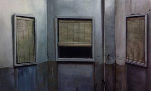 Obra 3 ventanas - Serie A nosotros - Artista pintor Antonio Morales Prats
