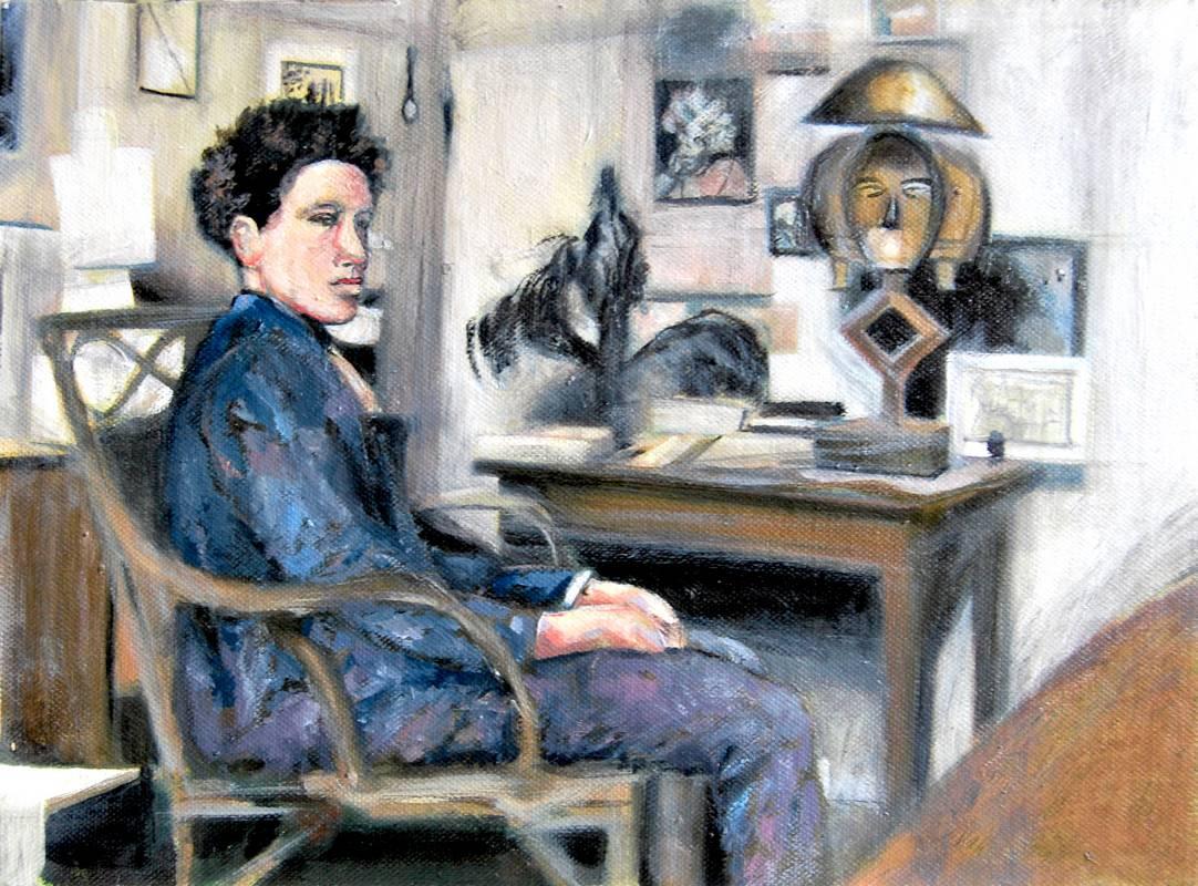 Estudio Alberto Giacometti - Serie Artistudios - Artista pintor Antonio Morales Prats