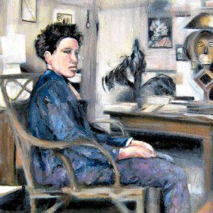 Detalle Estudio Alberto Giacometti - Serie Artistudios - Artista pintor Antonio Morales Prats