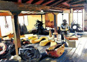 Estudio Andy Goldsworthy - Serie Artistudios - Artista pintor Antonio Morales Prats