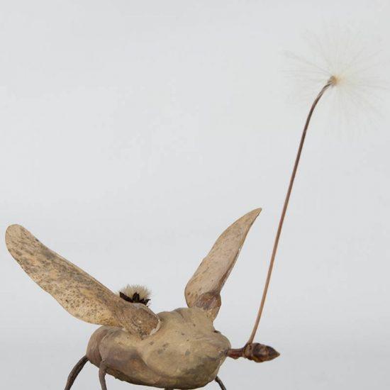 Obra Anteón - Escultura - Artista Antonio Morales Prats - Proyecto Kryptos Natura Críptidos
