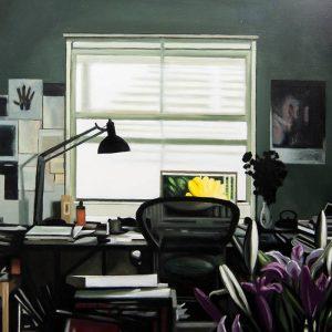 Obra Bill Viola - Serie Artistudios - Artista pintor Antonio Morales Prats_detalle