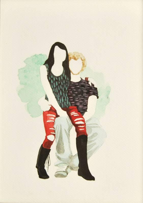 Obra Black and white- Serie Descarados - Artista Antonio Morales Prats