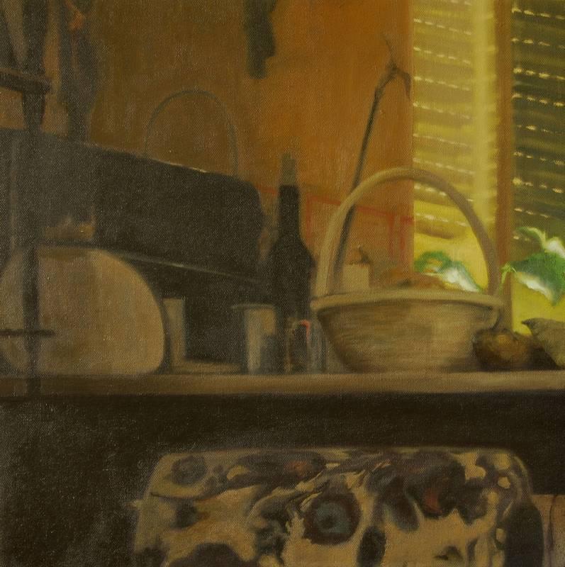 Obra Bodegón - Serie A nosotros - Artista pintor Antonio Morales Prats