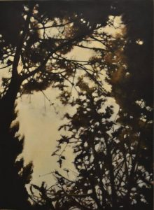 Obra Bosque perdido 0 - Pintura - Serie Natura - Artista pintor Antonio Morales Prats