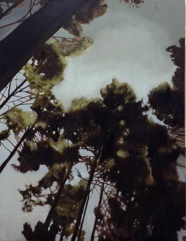 Obra Bosque perdido II - Pintura - Serie Natura - Artista pintor Antonio Morales Prats