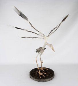 Obra Buitrejo - Escultura - Artista Antonio Morales Prats - Proyecto Kryptos Natura Críptidos