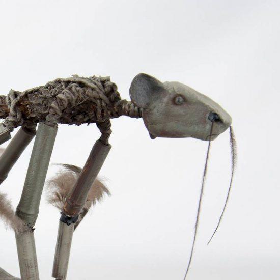 Obra Cambú - Escultura - Artista Antonio Morales Prats - Proyecto Kryptos Natura Críptidos