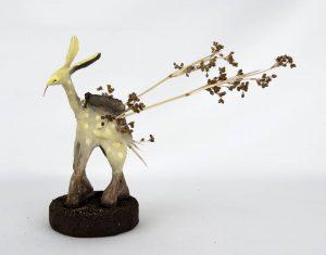 Obra Cervaucutus - Escultura - Artista Antonio Morales Prats - Proyecto Kryptos Natura Criptidos