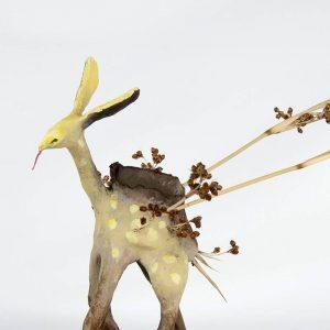 Obra Cervaucutus - Escultura - Artista Antonio Morales Prats - Proyecto Kryptos Natura Críptidos