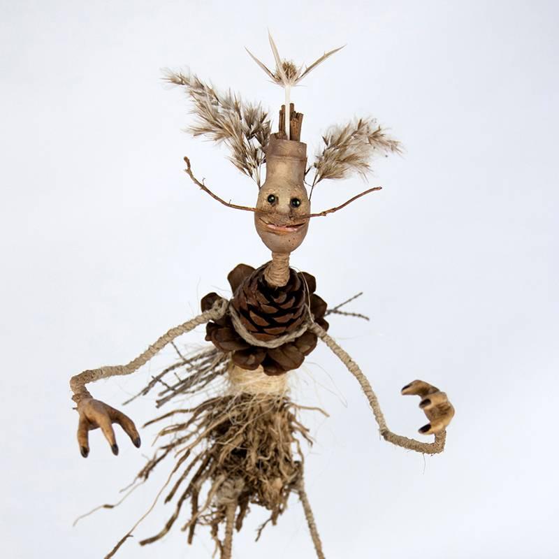 Obra Chamarraizpi - Escultura - Artista Antonio Morales Prats - Proyecto Kryptos Natura Críptidos