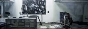Estudio Cristian Boltanski - Serie Artistudios - Artista pintor Antonio Morales Prats