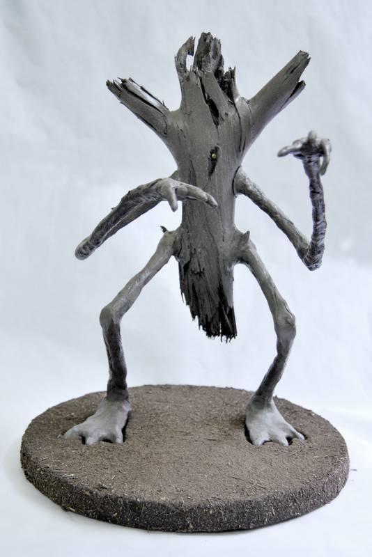 Obra Ciclornio - Escultura - Artista Antonio Morales Prats - Proyecto Kryptos Natura Críptidos