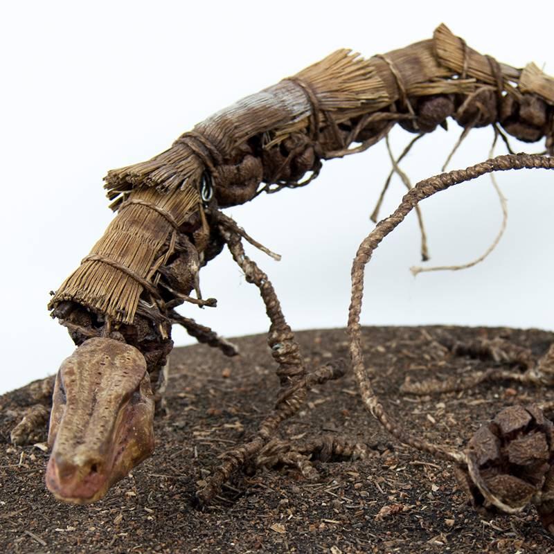 Obra Cipresdilo - Escultura - Artista Antonio Morales Prats - Proyecto Kryptos Natura Críptidos