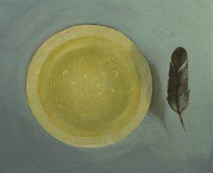 Obra Comida Ligera - Serie Cocina de Autor - Artista pintor Antonio Morales Prats