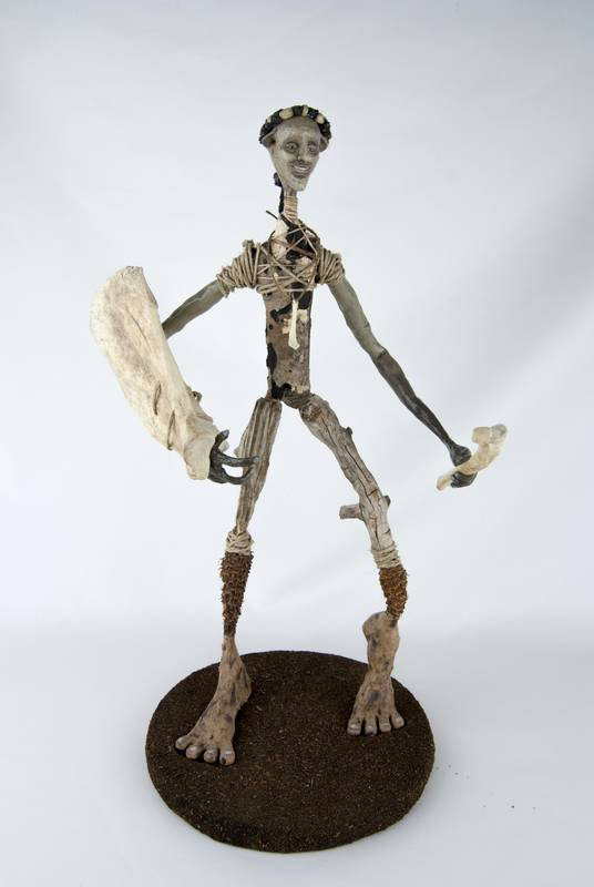 Obra Custossum - Escultura - Artista Antonio Morales Prats - Proyecto Kryptos Natura Críptidos