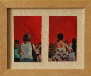 Obra Desconocidas - Serie A nosotros - Artista pintor Antonio Morales Prats