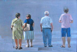 Obra Desconocidos - Serie A nosotros - Artista pintor Antonio Morales Prats