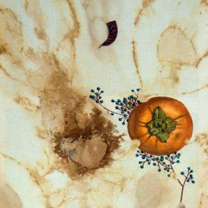 Obra Diospyros Kaki - Pintura - Pintor Antonio Morales Prats - Proyecto Kryptos Natura Stationalis
