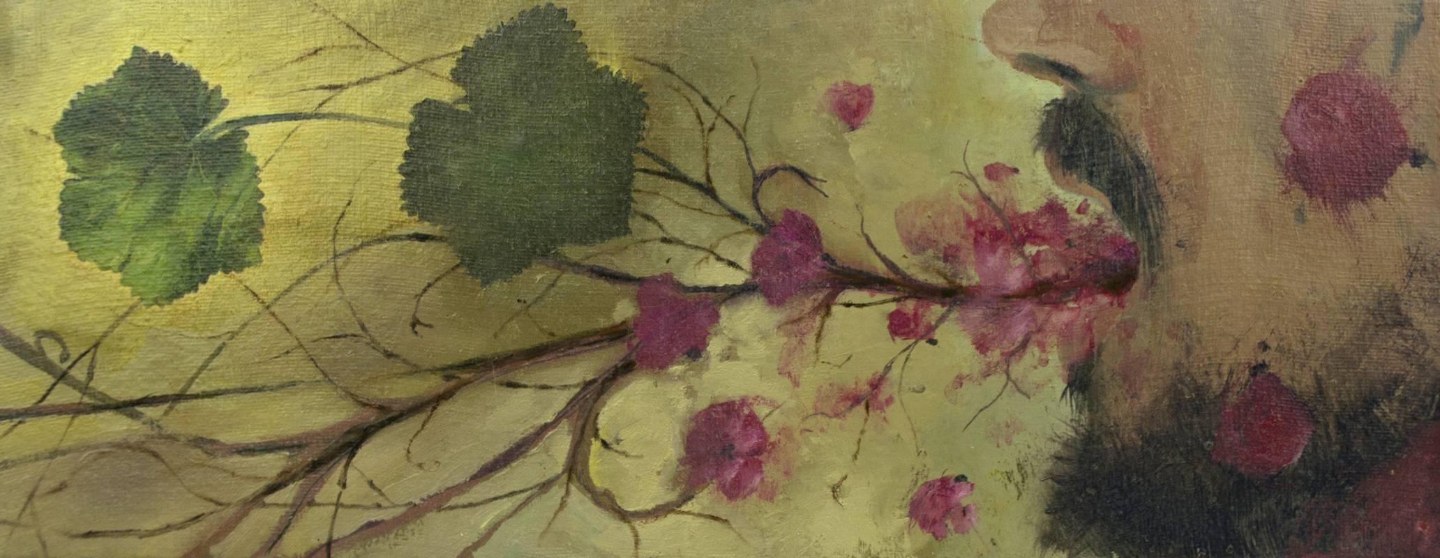 Obra Escupe flores – Serie Cocina de Autor – Artista pintor Antonio Morales Prats
