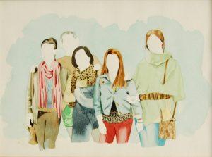 Obra Familia Gisbert Pardo - Serie Descarados - Artista Antonio Morales Prats