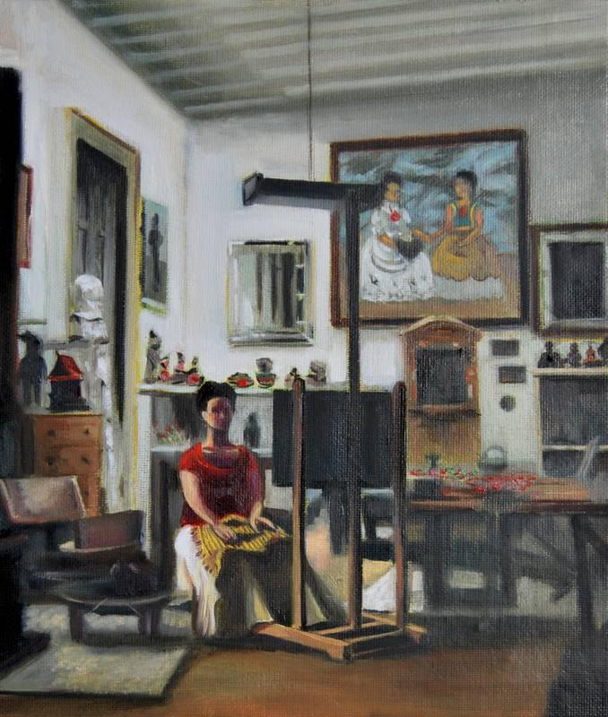Estudio Frida Kahlo - Serie Artistudios - Artista pintor Antonio Morales Prats