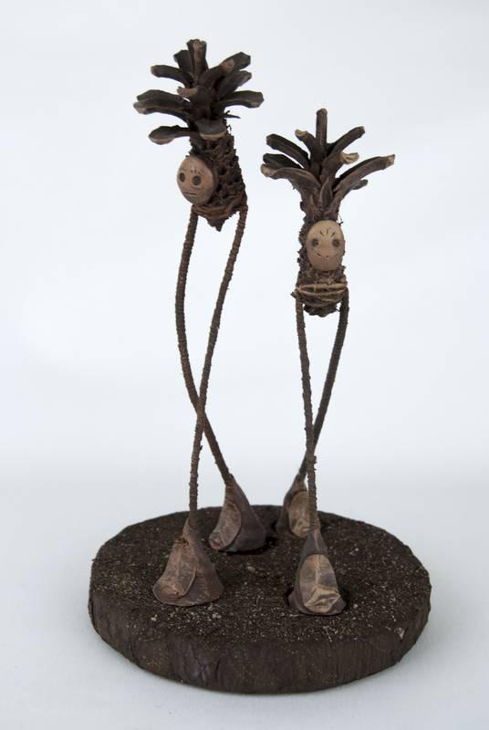 Obra Germíneas - Escultura - Artista Antonio Morales Prats - Proyecto Kryptos Natura Críptidos