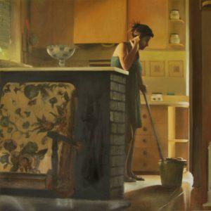Obra Hermana - Serie A nosotros - Artista pintor Antonio Morales Prats