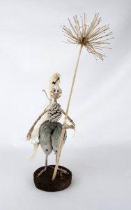 Obra Jibariña - Escultura - Artista Antonio Morales Prats - Proyecto Kryptos Natura Críptidos