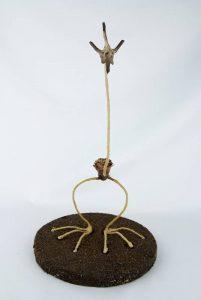 Obra Jirapiña - Escultura - Artista Antonio Morales Prats - Proyecto Kryptos Natura Críptidos