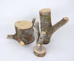 Conjunto Kintsugi - Escultura - Proyecto Kryptos Natura Plantae - Artista Antonio Morales Prats