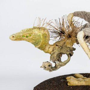 Obra Lacertuspín - Escultura - Artista Antonio Morales Prats - Proyecto Kryptos Natura Críptidos