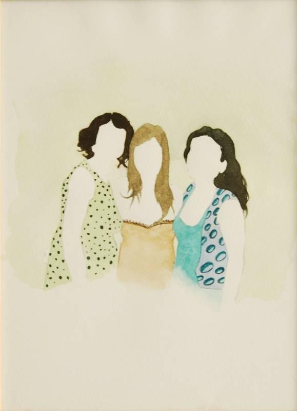 Obra Las camareras - Serie Descarados - Artista Antonio Morales Prats