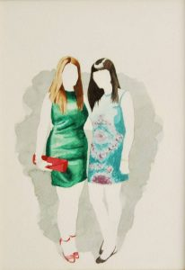 Obra Las primas pardinis - Serie Descarados - Artista Antonio Morales Prats