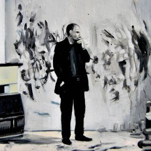 Detalle Estudio Luc Tuymans - Serie Artistudios - Artista pintor Antonio Morales Prats