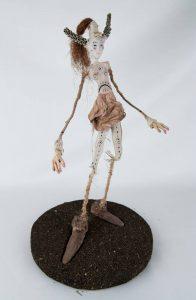 Obra Mailfa - Escultura - Artista Antonio Morales Prats - Proyecto Kryptos Natura Críptidos