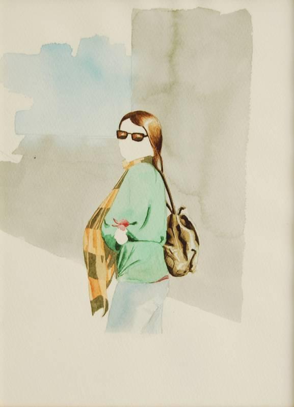 Obra Mar y Altea - Serie Descarados - Artista Antonio Morales Prats